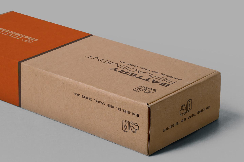 Printed Corrugated Box 0201