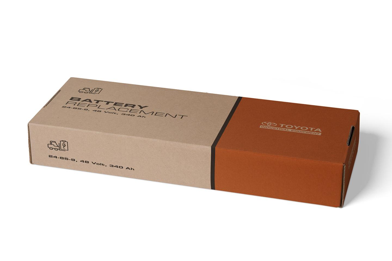 Printed Corrugated Box 0204