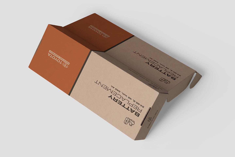 Printed Corrugated Box 0207